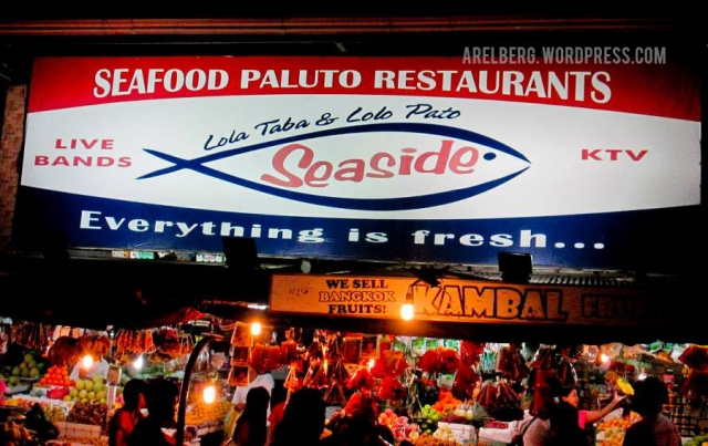 SEASIDE, Lota Taba & Lolo Pato, Seafood Paluto Restaurants
