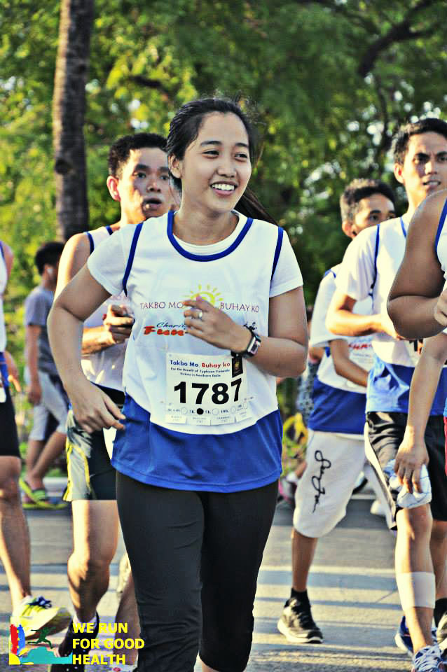 My Honey while she's running.