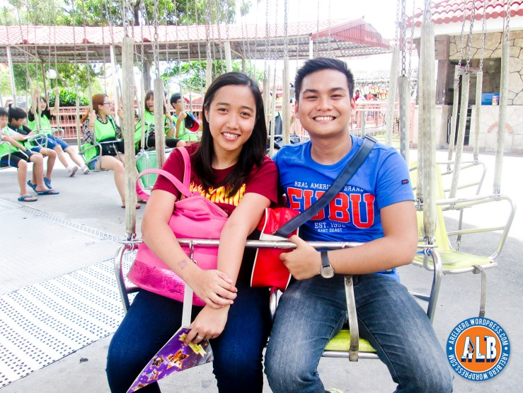 My honey and I at Flying Fiesta Ride