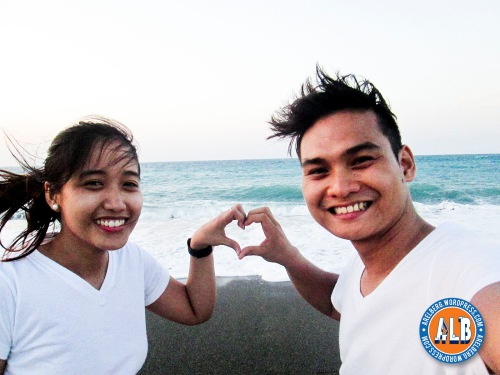 This is our very corny pose on that day. Hehehe! Pero ginawa parin namin :) #RelationshipGoals I love you honey! :*