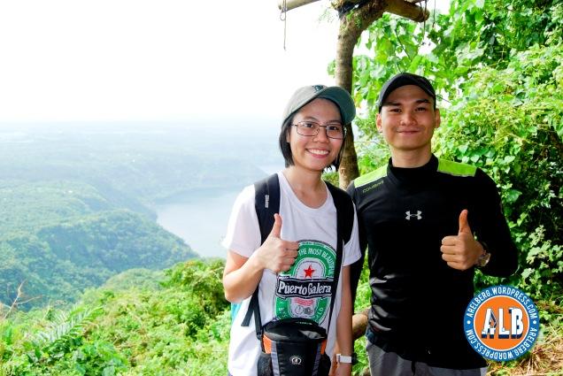 with RJ, siya rin ang dahilan kung bakit kami nakasama sa dayhike na ito. Thanks RJ!